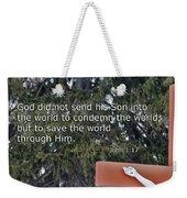 Easter Thoughts Weekender Tote Bag