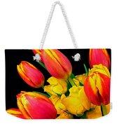 Easter Tulips And Roses Weekender Tote Bag