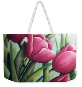 Easter Tulips Weekender Tote Bag