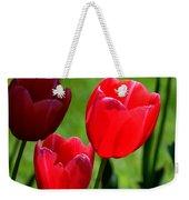 Easter Tulips Weekender Tote Bag