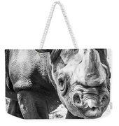 Eastern Black Rhinoceros Weekender Tote Bag