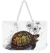 Eastern Box Turtle Weekender Tote Bag