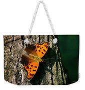 Eastern Comma Butterfly Weekender Tote Bag