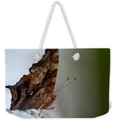 Eastern Comma Butterfly Weekender Tote Bag