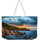 Eastern Glow At Sunset Weekender Tote Bag