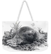 Eastern Mole Weekender Tote Bag