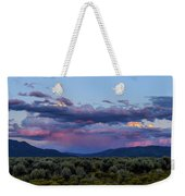 Eastern Sky At Sunset - Taos New Mexico Weekender Tote Bag