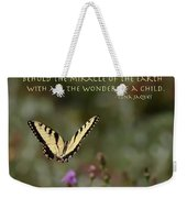 Eastern Tiger Swallowtail Butterfly - The Beauty Of The Wild Weekender Tote Bag