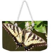 Eastern Tiger Swallowtail  Butterfly Wingspan Weekender Tote Bag