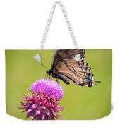 Eastern Tiger Swallowtail Dark Form  Weekender Tote Bag