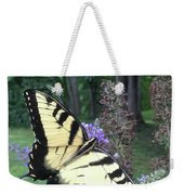 Eastern Tiger Swallowtail Sipping Nectar Weekender Tote Bag
