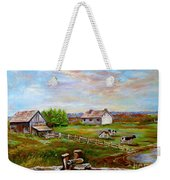 Eastern Townships Quebec Country Scene Weekender Tote Bag