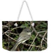 Eastern Wood Peewee Weekender Tote Bag