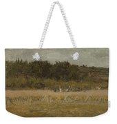 Eastman Johnson 1824 - 1906 Landscape Sketch Weekender Tote Bag