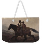 Eastman Johnson - A Ride For Liberty--the Fugitive Slaves 1862 Weekender Tote Bag