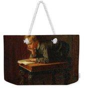 Eastman Johnson - Reading Boy Weekender Tote Bag