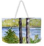 Eastport Maine Coastal Afternoon Weekender Tote Bag