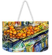 Eat Weekender Tote Bag