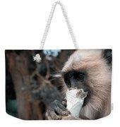 Eating Monkey Weekender Tote Bag