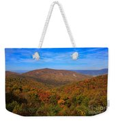 Eaton Hollow Overlook On Skyline Drive In Shenandoah National Park Weekender Tote Bag