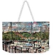 Eau Gallie Seascape Painting Weekender Tote Bag