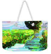Ebb And Flow - Coppped Weekender Tote Bag
