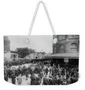 Ebbets Field Crowd 1920 Weekender Tote Bag