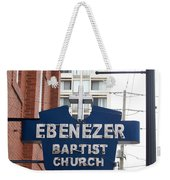 Ebenezer Baptist Church Weekender Tote Bag