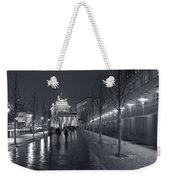Ebertstrasse And The Brandenburg Gate Weekender Tote Bag