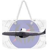 Ec-121m Super Constellation Weekender Tote Bag