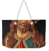 Ecce Homo Or The Redeemer Weekender Tote Bag by Botticelli