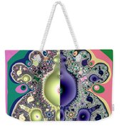 Ecclesiastes 3 A Time To Be Born And A Time To Die Fractal Weekender Tote Bag
