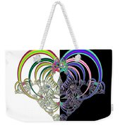 Ecclesiastes 3 A Time To Love And A Time To Hate Fractal Weekender Tote Bag