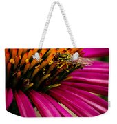 Echinacea And Syphrid Weekender Tote Bag