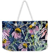 Echinacea Cone Flower Art Weekender Tote Bag
