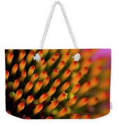 Echinacea Coneflower Abstract Weekender Tote Bag