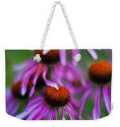 Echinacea Crowd Weekender Tote Bag