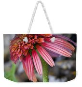 Echinacea Hot Papaya Weekender Tote Bag