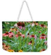Echinacea Multi Mix Weekender Tote Bag