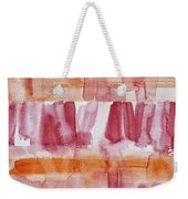 Coneflowers Particles Weekender Tote Bag
