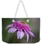 Echinacea Pink Double Delight Weekender Tote Bag