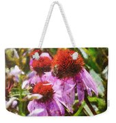 Echinacea Watercolor 2015 Weekender Tote Bag