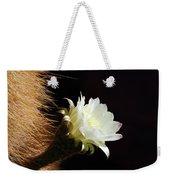 Echinopsis Atacamensis Cactus Flower Weekender Tote Bag