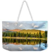 Echo Lake Painterly 1 Weekender Tote Bag