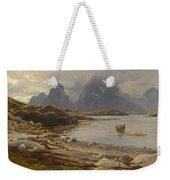Eckenbrecher, Karl Paul Themistokles Von Athens 1842 - 1921 Goslar Norwegian Fjord Weekender Tote Bag