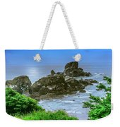Ecola State Park Oregon 2 Weekender Tote Bag by Shiela Kowing