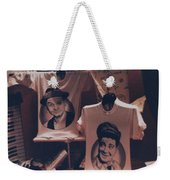Ed And Ralphie Boy Weekender Tote Bag