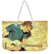 Ed Sheeran And Guitar Weekender Tote Bag