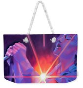 Eddie Vedder And Lights Weekender Tote Bag