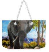 Eddy Elephant Weekender Tote Bag